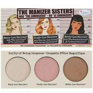 The balm the manizer sister 3in1