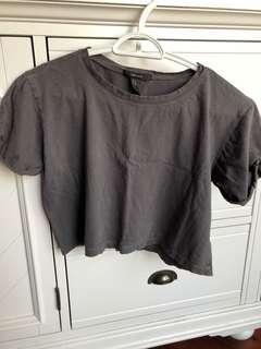 Forever 21 Crop Shirt