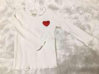 Cute Heart Shirt (Perfect sa Vday ❤️)