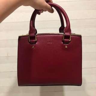 CMG Maroon/Red Sling Bag
