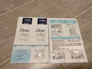 ((游水旅行)) Dove Moisture + Oxygen 洗頭水護髮素