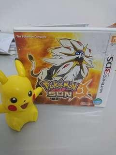 Pokemon SUN Nitendo 3DS game card☀☀