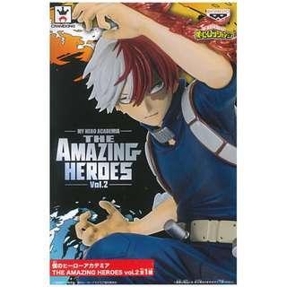 [全新 - 現貨] 轟焦凍 我的英雄學院 景品 眼鏡廠 Banpresto MY Hero Academia - Todoroki Shouto - THE AMAZING HEROES VOL. 2 Figure 玩具 模型 首辦