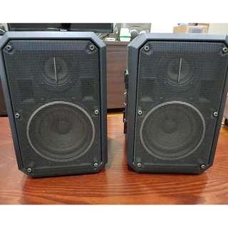 Sharp bookshelf speakers