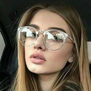 Women Glasses Frame Men Eyeglasses Frame Vintage Round Clear Lens Glasses Optical Spectacle Frame