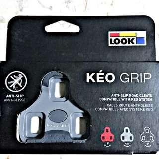 (Discount) Original Look Keo Grip Cleats (Grey 4.5 Degrees) (Red 9 Degrees)