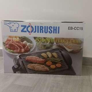 [Mint Condition] Zojirushi EB-CC15 Indoor Electric BBQ Grille For Kitchen & Outdoor
