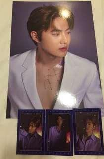 Suho Season Greeting Poster set with Wish Cards