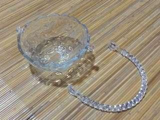Glass Bowl with Handle