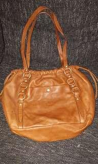 J. Crew bag genuine leather