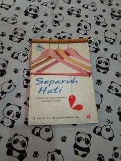 "Novel ""Separuh Hati"""
