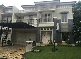 Dijual rumah mewah 2 lantai, , semi furnished. Luas tanah 286 m2.. Luas bangunan 235 m2.