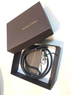 Bottega Veneta Hand-made neck rope BV 全人手製作織皮頸繩或袋繩