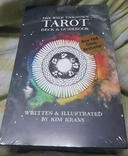 The Wild Unknown Tarot Deck & Guidebook by Kim Krans