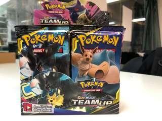 pokemon tcg 美版 SM9 原盒