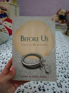 Novel BEFORE US..