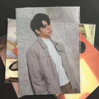 wtt wanna one therefore po postcard