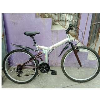 X-ACTION FOLDING MT. BIKE (FREE DELIVERY AND NEGOTIABLE!)