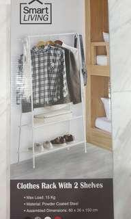 Clothes Rack with 2 selves