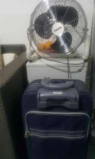 Secondhand Fan and Luggage