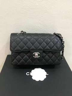 Authentic Chanel Classic Small Flap Bag Series Gold