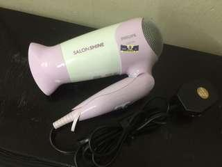 #CNY888 Philips Travel Hair Dryer