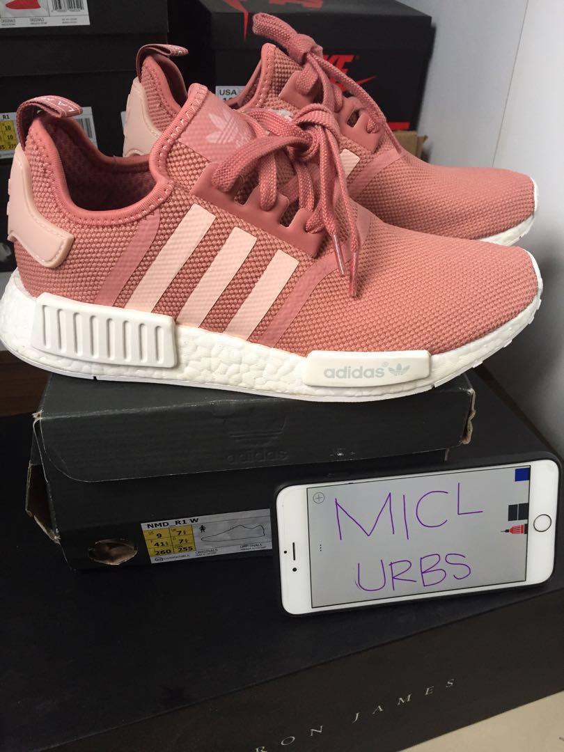 aa8c77143ad45 Adidas NMD R1 Pink Salmon US 9 W