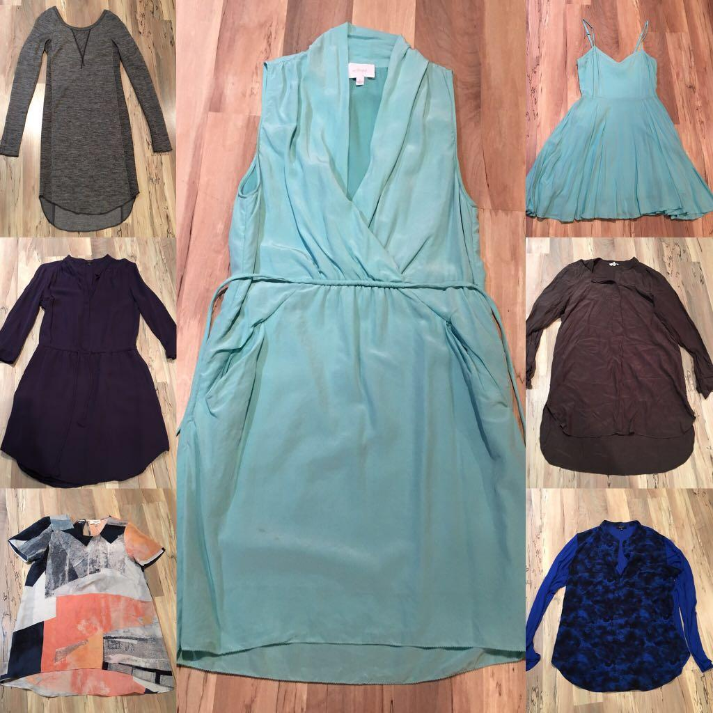 Aritzia Babaton Wilfred Talula (lot of 7) dresses and tops
