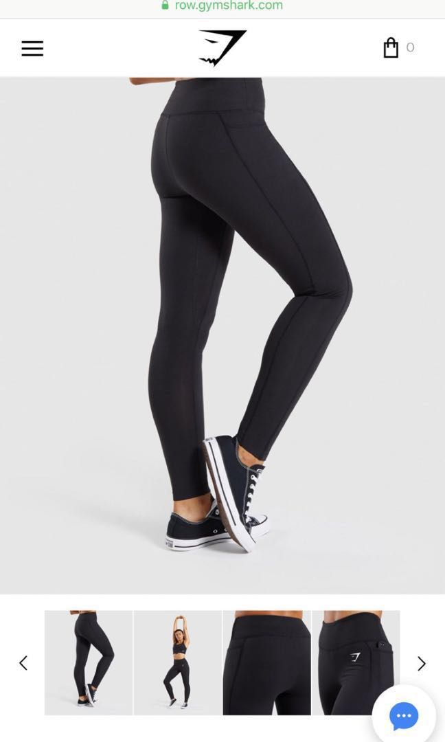 04425ce54d01f Authentic gymshark dreamy leggings 2.0 M sized black, Sports, Sports  Apparel on Carousell
