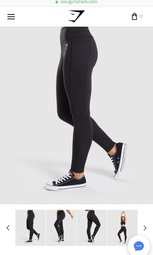060061f219ed8 Authentic gymshark dreamy leggings 2.0 M sized black, Sports, Sports ...