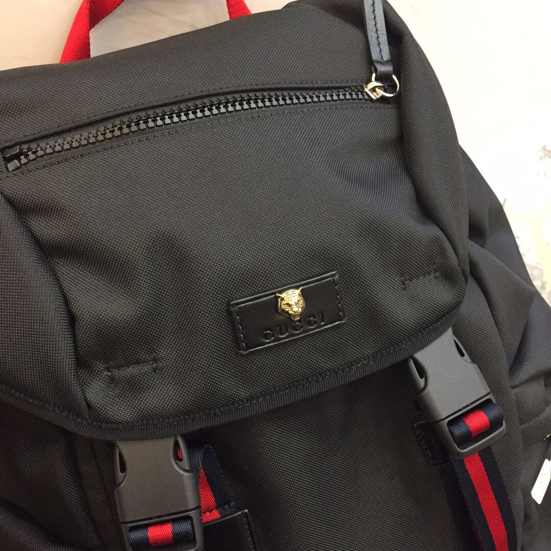 Authentic Pre-loved Gucci Men s Techno Canvas Backpack 0705b2ccd8290