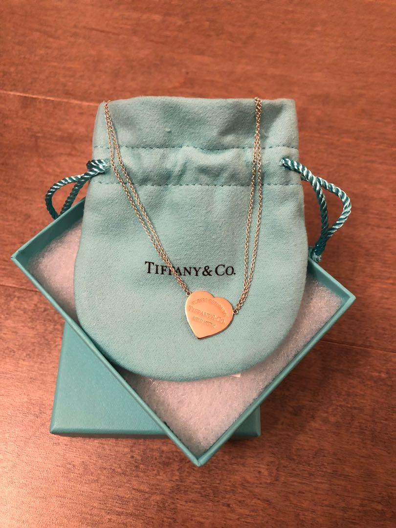 Authentic Tiffany and Co Return to Tiffany Pendant