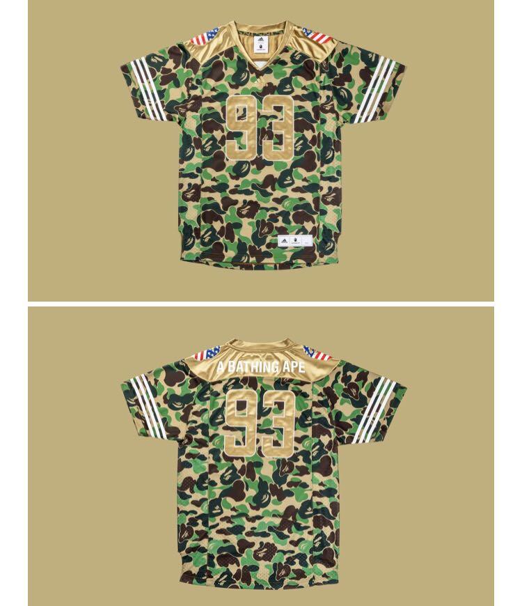 6806805d9746 Bape x adidas football jersey