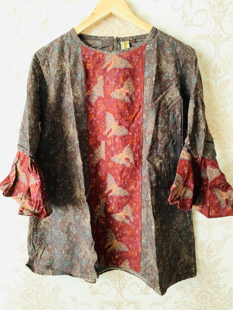 Batik - coklat - Size M