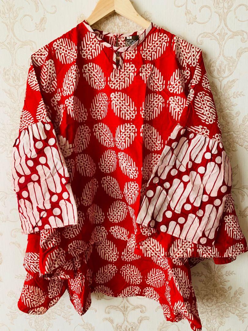 Batik - merah - Size S