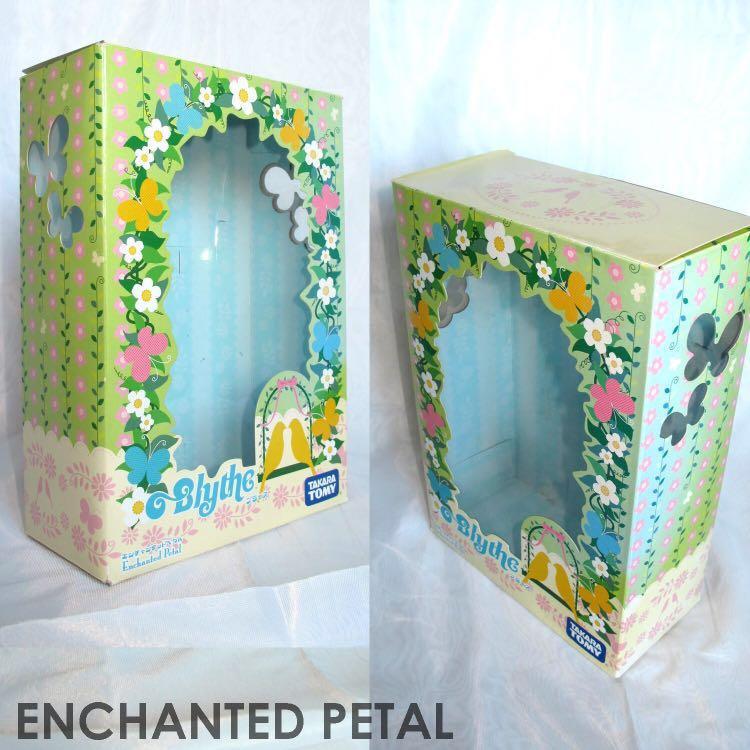 Blythe Enchanted Petal empty coloured box