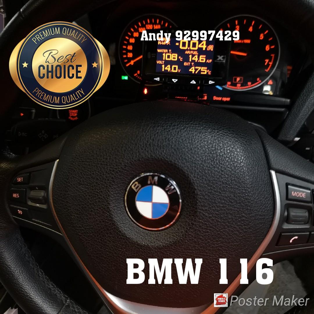 BMW 116 Lufi X1 Revolution OBD OBD2 Gauge Meter display