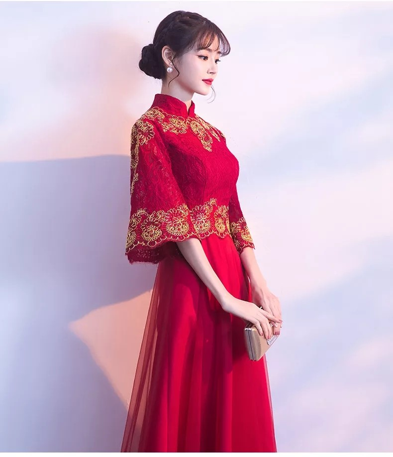 36102355f Brand new oriental wedding gown!, Women's Fashion, Clothes, Dresses ...