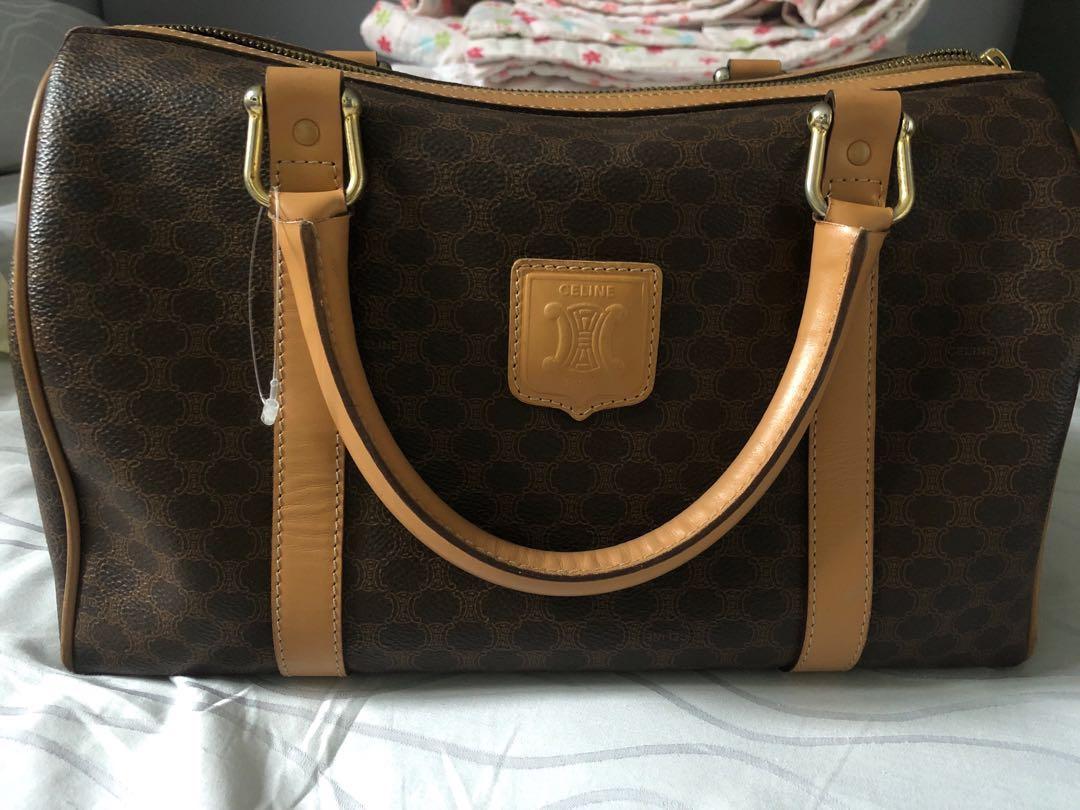 f533b0c507 Priced to sell) Celine Vintage Boston Bag