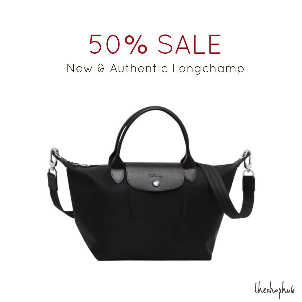 077b810891b9 CHEAPEST  Authentic Longchamp Le Pliage Neo (with sling)- Black ...