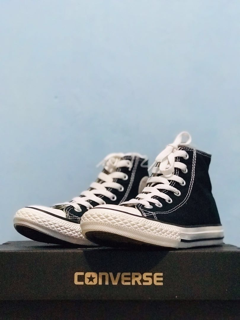 41bbc25fba82 CONVERSE CHUCK TAYLOR ALL STAR BASIC HIGH BLACK WHITE