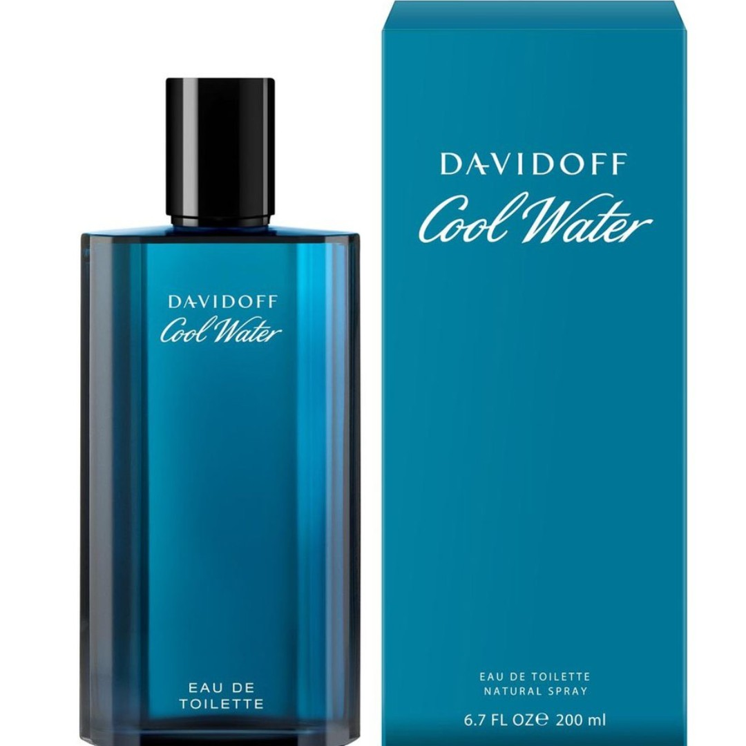 Davidoff Cool Water Men Edt 200ml Health Beauty Perfumes