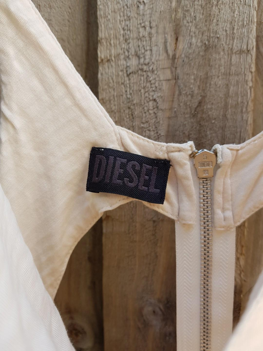 Diesel dress. Size 6-8. Cutouts on back.