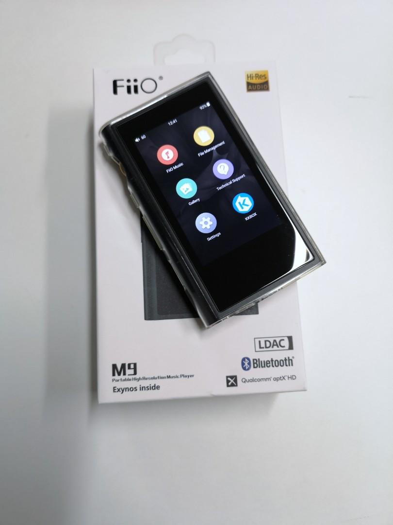 FiiO M9 portable Hi-Res music player, Electronics, Audio on