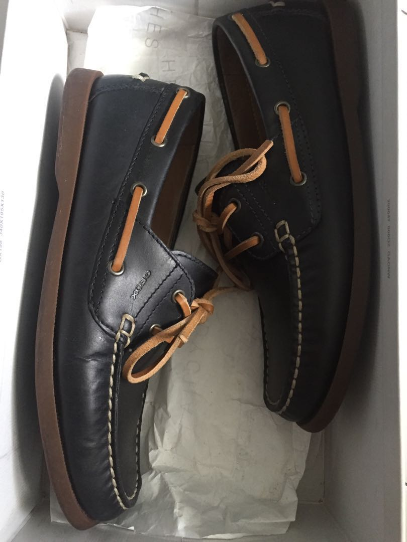 77447fa0a193e Geox Boat Shoes Mint Condition, Men's Fashion, Footwear, Others on ...