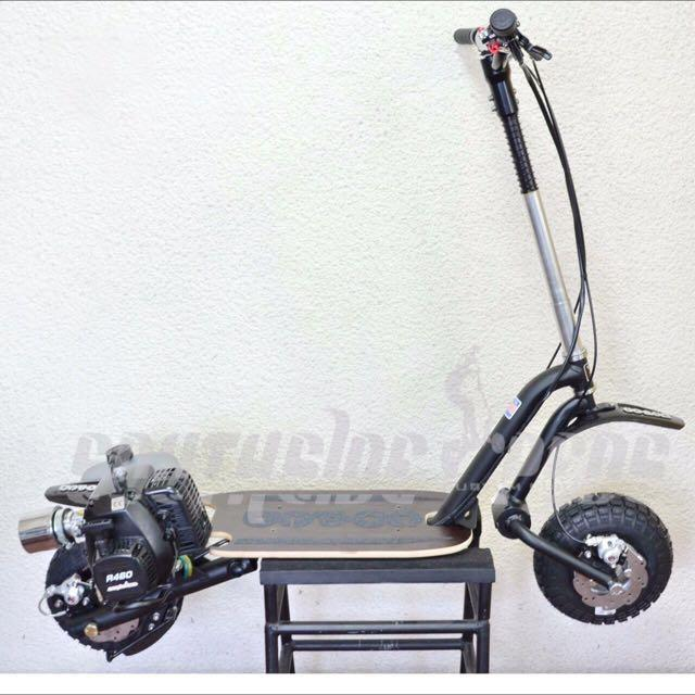 GoPed USA - GTR46i Trail Ripper Stand Up Scooter, Motorbikes