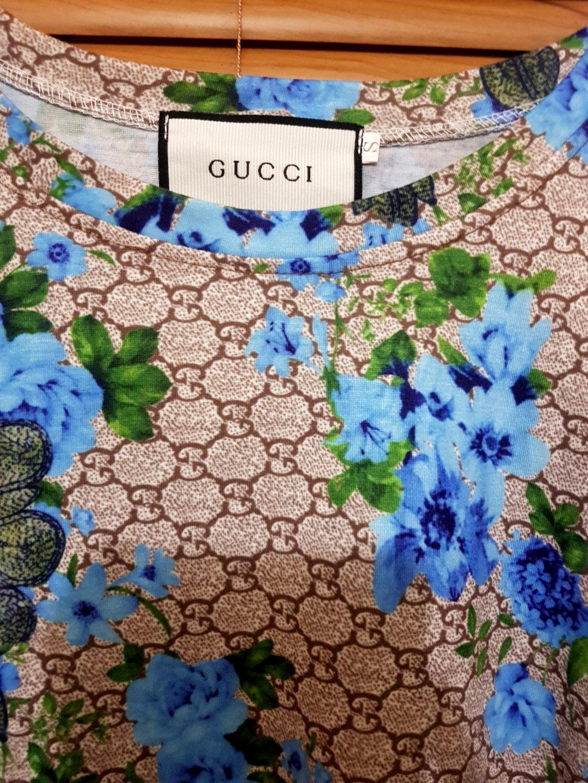 Gucci set atasan bawahan flower