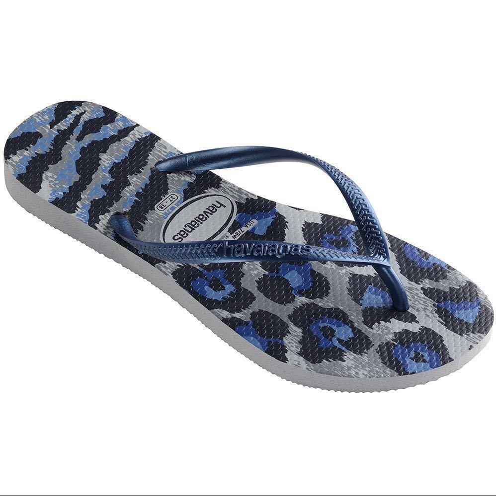 b717e3dc19f8 Havaianas Slim Animal Print Leopard Print Flip Flops Slippers ...