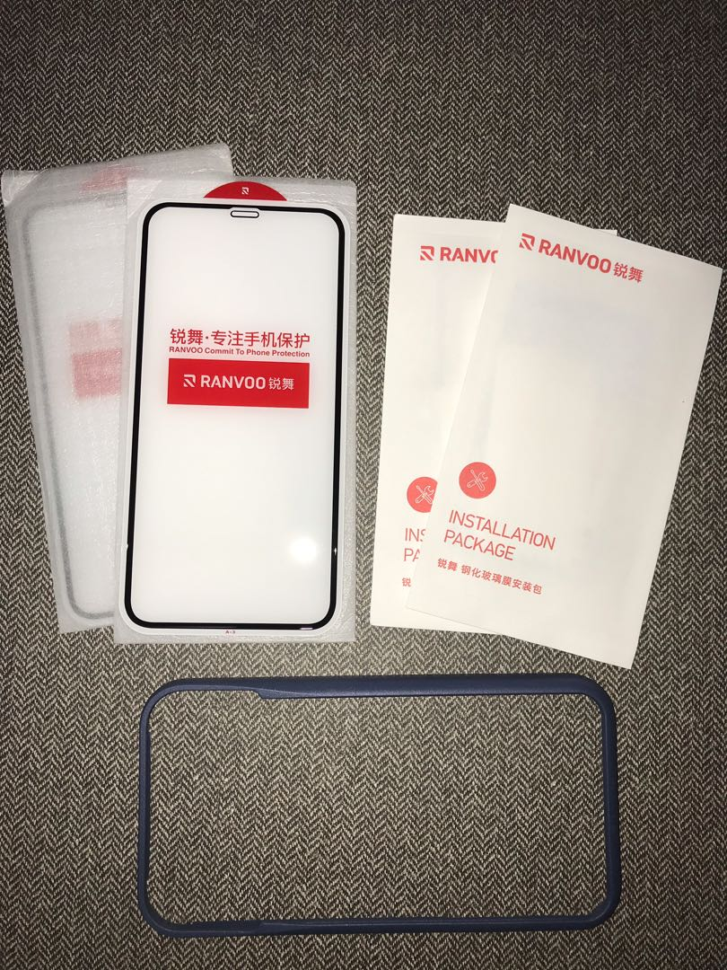 Iphone XR Tempered Glass Screen Protector (2 pcs)