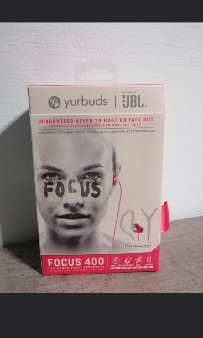 718ed1c213d Jbl Yurbuds Focus 400, Electronics, Audio on Carousell